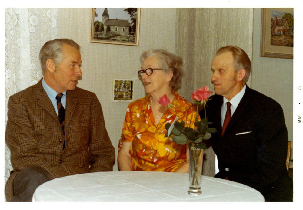 farbror Henry faster Herta och min pappa Eric